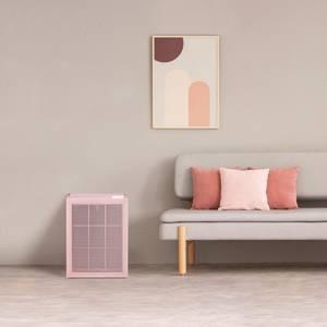 Coway Airmega 150 Peony Pink on Living Room Floor