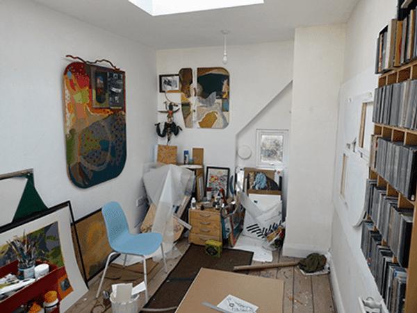 Iain Biggs' studio