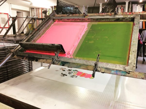 printmaking screen