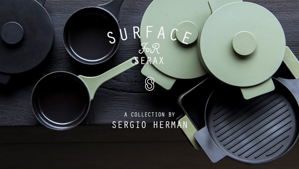 Sergio Herman - Surface Cast Iron Cookware