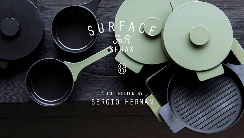 Sergio Herman - Surface Cast Iron Cookware