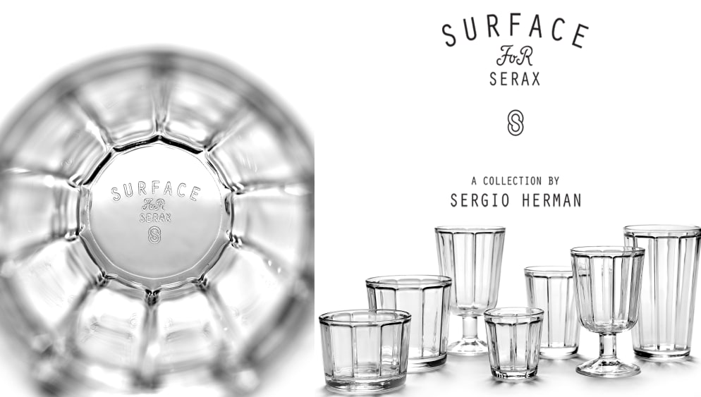 Sergio Herman - Surface Glassware