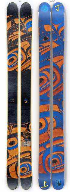 "The Allplay ""CEDAR"" Phil Gray x J Collab Limited Edition Ski"