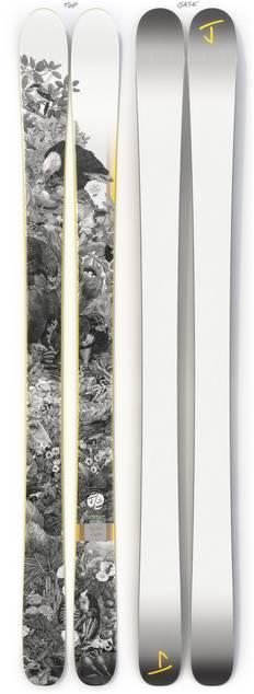 "The Masterblaster ""SANTA CRUZ"" Zoe Keller x J Collab Limited Edition Ski"