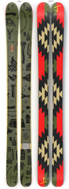 "The Masterblaster ""SURVIVOR"" Liam Ashurst x J Collab Limited Edition Ski"