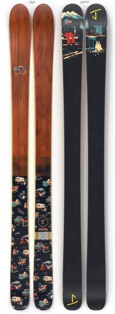 "The Masterblaster ""TAILGATER"" Limited Edition Ski"