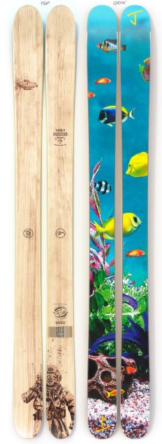 """The Vacation """"DIVER"""" Samm Moore x J Collab Limited Edition Ski"""