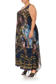 TIE FRONT MULTIWEAR DRESS FIELDS OF TREASURE