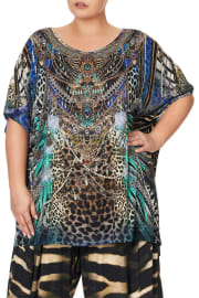 LOOSE FIT ROUND NECK TEE ANIMAL ARMY