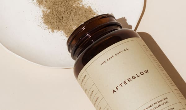 The Base Body Co Afterglow Supplement Powder