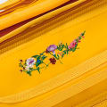 Embroidered Flower Yellow gallery image