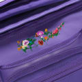Embroidered Flower Purple gallery image