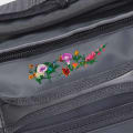 Embroidered Flower Grey gallery image
