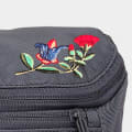 Embroidered Flowers Grey gallery image