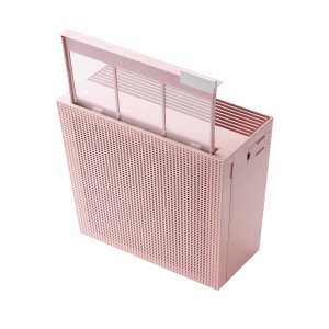Coway Airmega 150 Peony Pink pre filter with product
