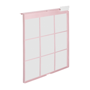 Coway Airmega 150 Peony Pink pre filter side view
