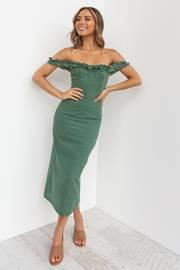 Florez Dress - Green