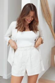Bobbi Shorts - Beige