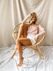 Jemima Sweater - Blush
