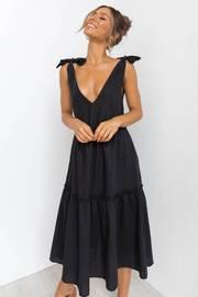 Erenda Dress - Black