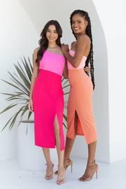 Xiomar Dress - Orange
