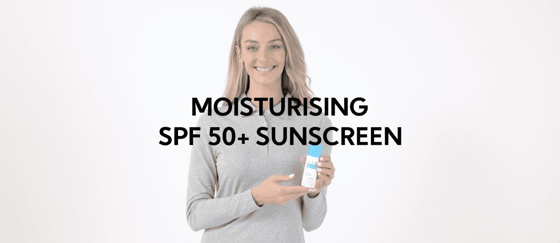 Moisturizing SPF50+ Face Sunscreen, 50ml / 1.7oz