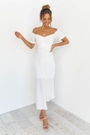 Oralie Dress - White