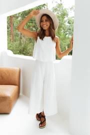 Femme Jumpsuit - White