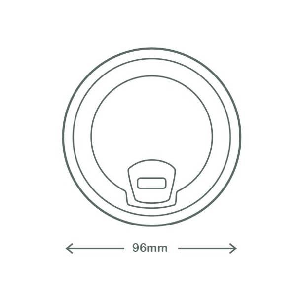 Sipper PLA lid - 96 series