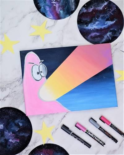 Chalk Markers - Spongebob