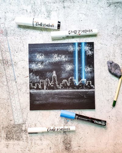 White Liquid Chalk Marker