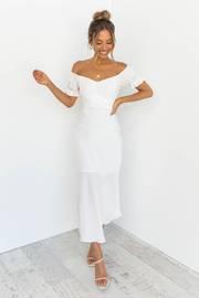 Oralie Dress - White