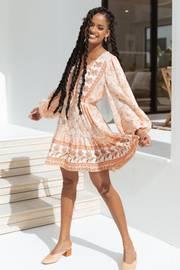 Dimity Dress - Apricot