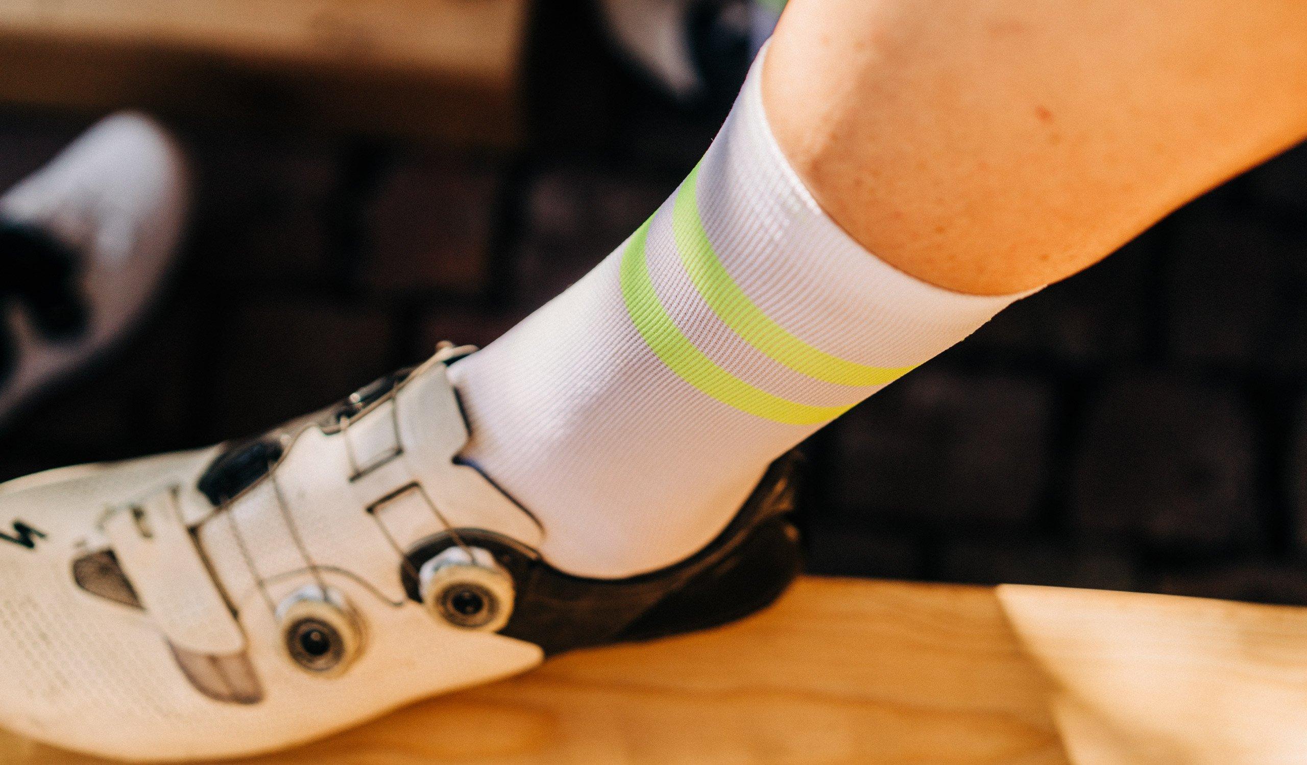 Horizon Sock / White