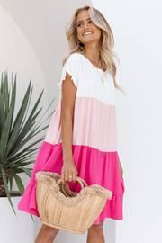 Garces Dress - Pink