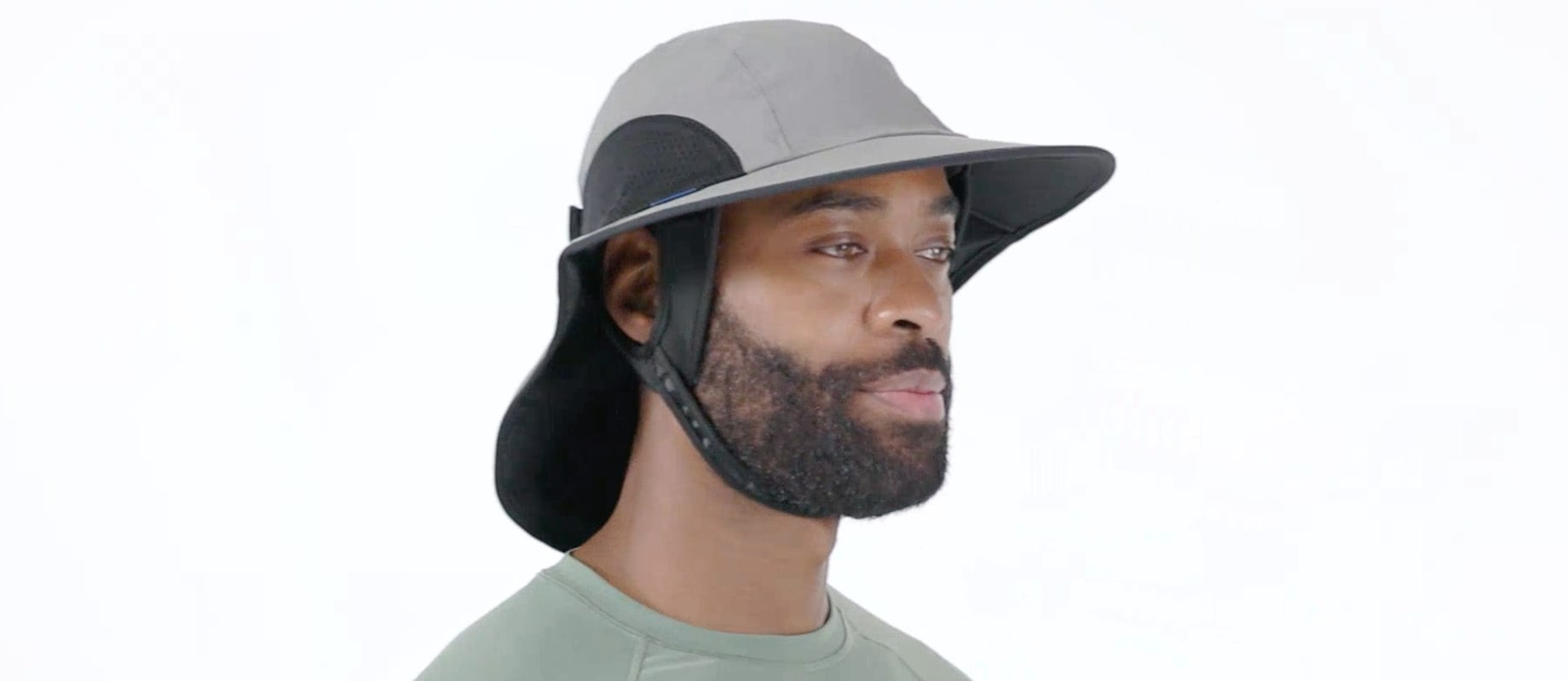 Water Sports Sun Hat UPF50+ For Men | Sun Protection Water Sports Hat