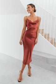 Persia Dress - Rust