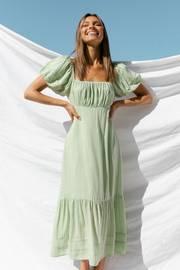 Flint Dress - Green