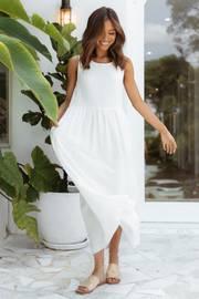 Molane Dress - White