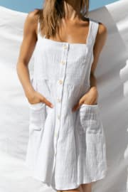 Seabrooke Dress - White