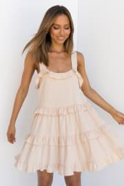 Nolder Dress - Beige