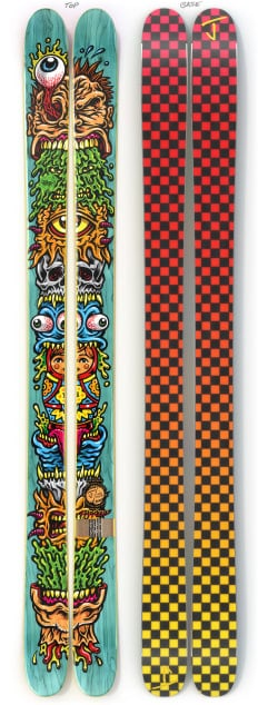"""The Allplay """"STACKED"""" Jimbo Phillips x J Collab Limited Edition Ski"""