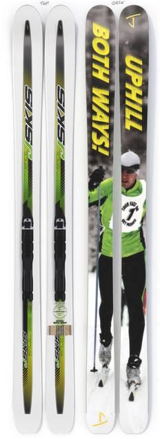 "The Slacker ""UPHILL BOTH WAYS"" Ahmet's Bro x J Collab Limited Edition Ski"
