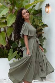 Barker Dress - Olive