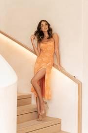 Alyce Dress - Orange