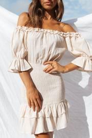 Glow Dress - Beige