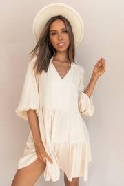 Drayco Dress - Cream