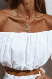 Anacapri Necklace - Gold Plated