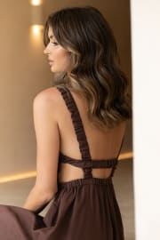 Esther Dress - Brown