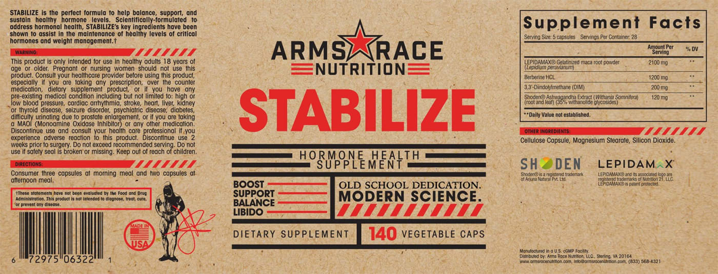 Stabilize Label